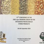 Об участии в 12-й конференции рабочей группы Международной организации по биологической и комплексной защите (IOBC/WPRS) «Комплексная защита хранящейся продукции»